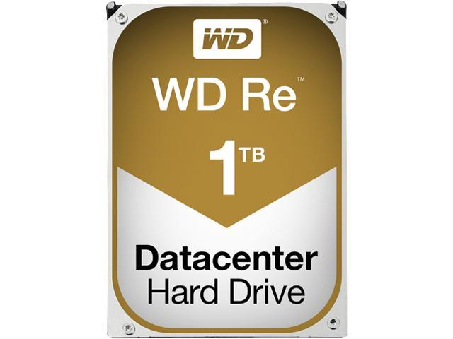 WD Re 1TB Datacenter Capacity Hard Disk Drive - 7200 RPM Class SATA 6Gb/s 128MB Cache 3.5 inch WD1004FBYZ