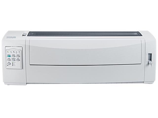 LEXMARK 2581n+ (11C2956) 9 pins 240 x 144 dpi USB / Ethernet Dot Matrix Printer