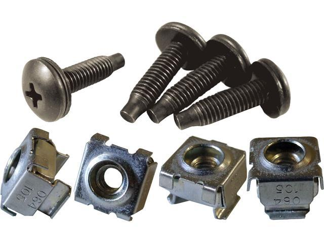 10-32 Mounting Screw and Cage Nut Combo-Pack