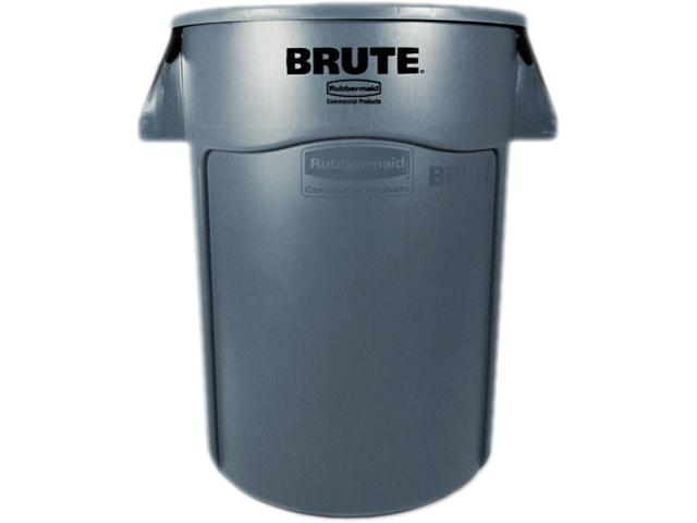 Rubbermaid Brute 2643-60 44-Gallon Waste Container - Gray