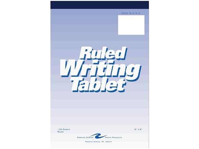Roaring Spring 63046 Ruled Writing Tablet 100 Sheets 6