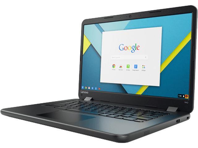 Lenovo Chromebooks Intel Celeron N3060 (1.60 GHz) 4 GB Memory 16 GB eMMC SSD 14.0