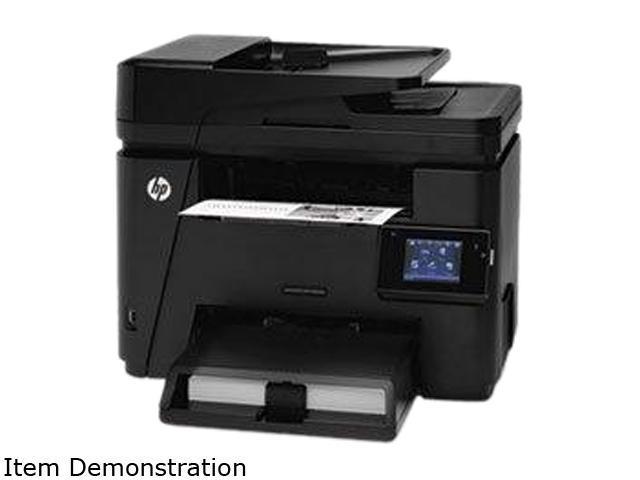 HP LaserJet Pro M225DW (CF485A) Up to 26 ppm 1200 x 1200 dpi Duplex Wireless/USB Monochrome All-in-One Laser Printer