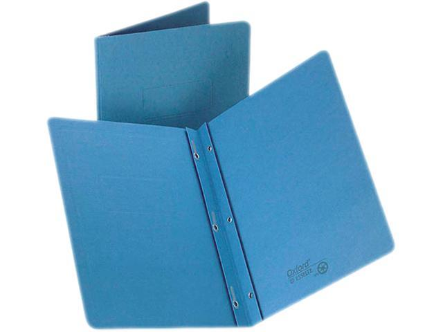 Tops  Pendaflex 52501 Report Cover, 3 Fasteners, Panel and Border Cover, Letter, Light Blue, 25-Box