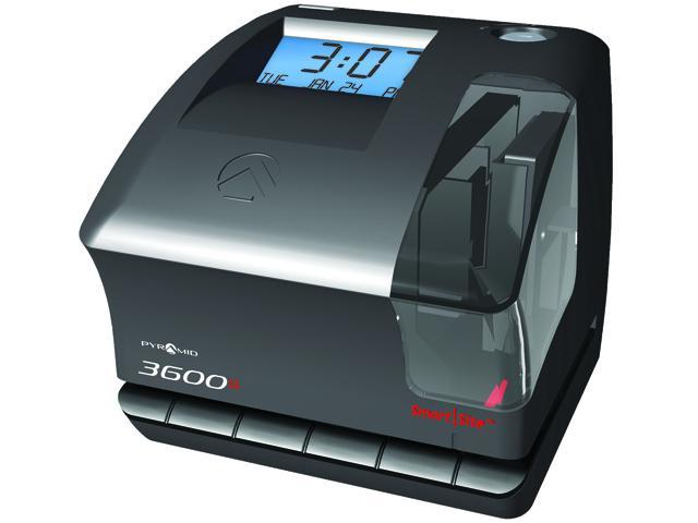 Pyramid Technologies 3600SS Multi-Purpose Time Clock & Document Stamp