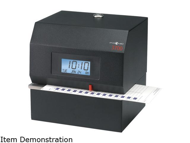 Pyramid Technologies 3700 Heavy-Duty Time Clock & Document Stamp