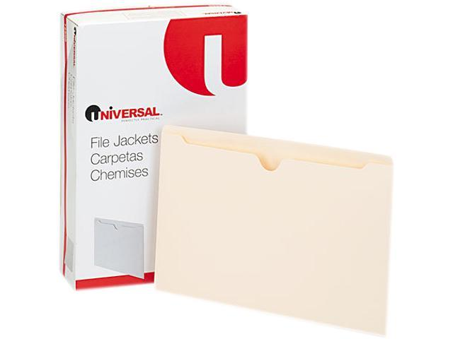 Economical File Jackets, Legal, 11 Point Manila, 100/Box