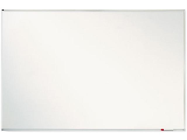 Porcelain Magnetic Whiteboard, Aluminum Frame, 8'W X 4'H