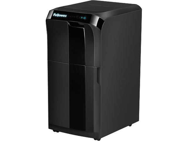 Fellowes - 4652001 - Fellowes AutoMax 500C Shredder - Cross Cut - 500 Per Pass - for shredding Staples, Credit Card, CD, DVD, Paper Clip, Junk Mail - 0.16 x 1.50 Shred Size - P-4 - 8 ft/min - 9 Throat