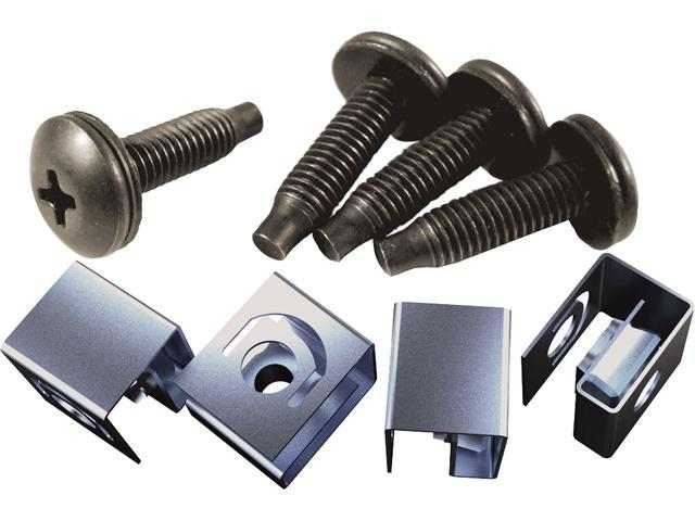10-32 Mounting Screw and Clip Nut Combo-Pack
