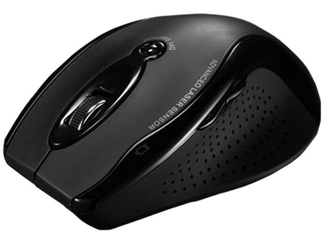 ADESSO iMouse G25 1 x Wheel USB RF Wireless Laser Ergonomic Mouse