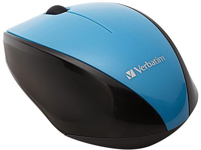 Verbatim 97993 - Wireless Notebook Multi-Trac Blue LED Mouse - Blue