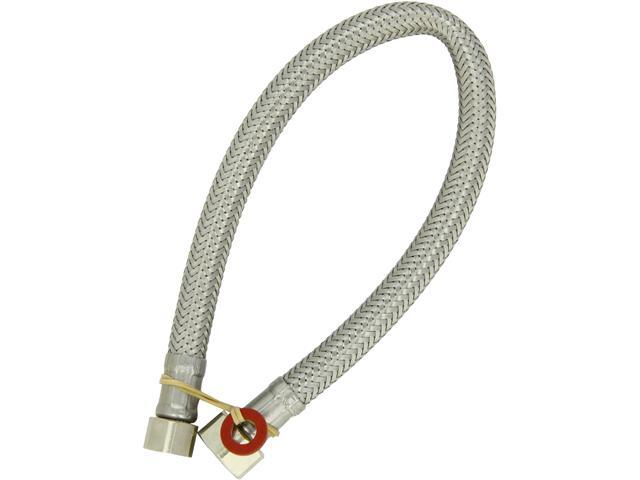 Grohe Kitchen Faucet Flexible Hose Replacement : Grohe flex hose for widespread faucet starlight chrome newegg