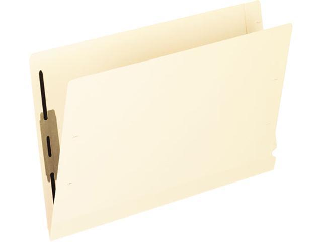 Tops  Pendaflex 13210 Laminated Spine End Tab Folder with 1 Fastener, 11 pt Manila, Legal, 50-Box