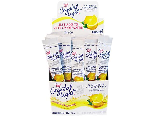 Flavored Drink Mix, Lemonade, 30 .17Oz Packets/Box