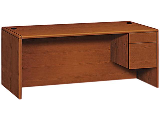 HON 10785RJJ 10700 Series Single Right Pedestal Desk 72