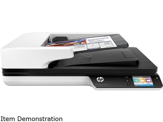 HP ScanJet Pro 4500 (L2749A#BGJ)  1200 dpi x 1200 dpi wireless/USB color document scanner