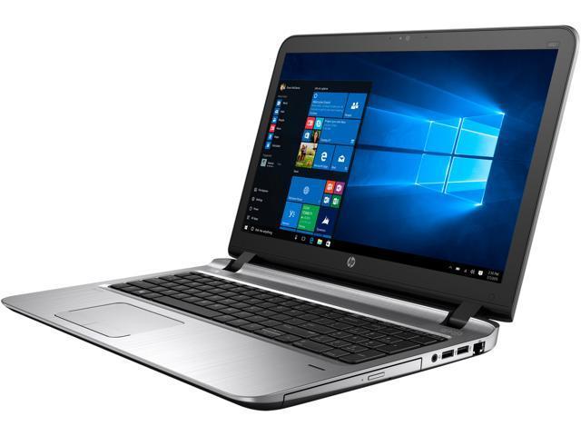 HP Bilingual Laptop ProBook 450 G3 (W0S84UT#ABL) Intel Core i5 6200U (2.30 GHz) 8 GB Memory 128 GB SSD Intel HD Graphics 520 15.6