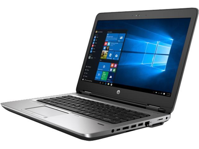 HP Bilingual Laptop ProBook 640 G2 (V1P79UT#ABL) Intel Core i5 6300U (2.40 GHz) 8 GB Memory 500 GB HDD Intel HD Graphics 520 15.6