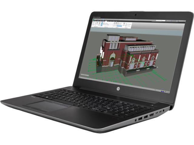 HP ZBook 15 G3 (V2W08UT#ABL) Bilingual Mobile Workstation Intel Core i7 6700HQ (2.60 GHz) 8 GB Memory 256 GB SSD NVIDIA Quadro M1000M 15.6