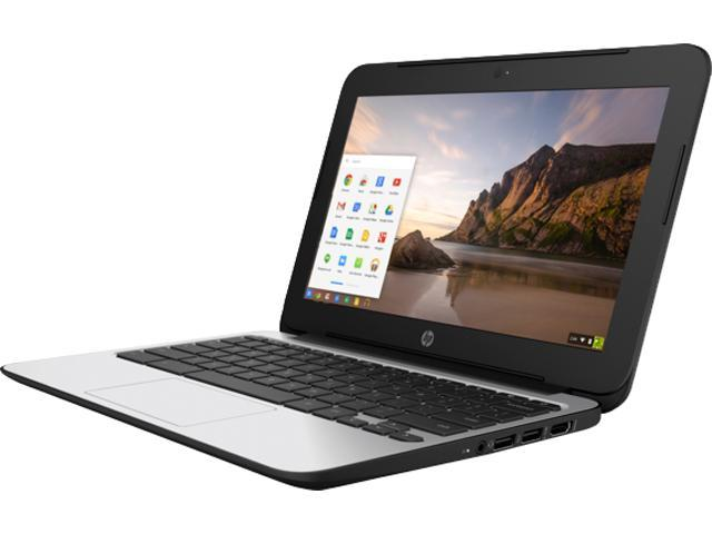 HP Chromebook 11 G4 EE (V2W30UT#ABL) Bilingual Chromebook Intel Celeron N2840 (2.16 GHz) 4 GB Memory 16 GB eMMC SSD 11.6