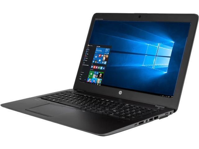 HP Bilingual Mobile Workstation ZBook 15u G3 (V1H66UT#ABL) Intel Core i7 6500U (2.50 GHz) 16 GB Memory 256 GB SSD AMD FirePro W4190M 2 GB 15.6