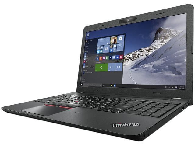 Lenovo Laptop ThinkPad E560 (20EV002JCA) Intel Core i7 6500U (2.50 GHz) 8 GB Memory 500 GB HDD AMD Radeon R7 M370 15.6