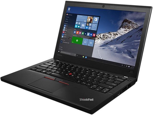 Lenovo Bilingual Laptop ThinkPad X260 (20F6006LCA) Intel Core i7 6600U (2.60 GHz) 16 GB Memory 256 GB SSD Intel HD Graphics 520 12.5