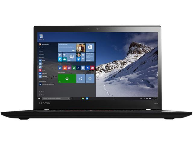 Lenovo ThinkPad T460s (20F9003CCA) Intel Core i7 6600U (2.60 GHz) 8 GB Memory 256 GB SSD Intel HD Graphics 520 14