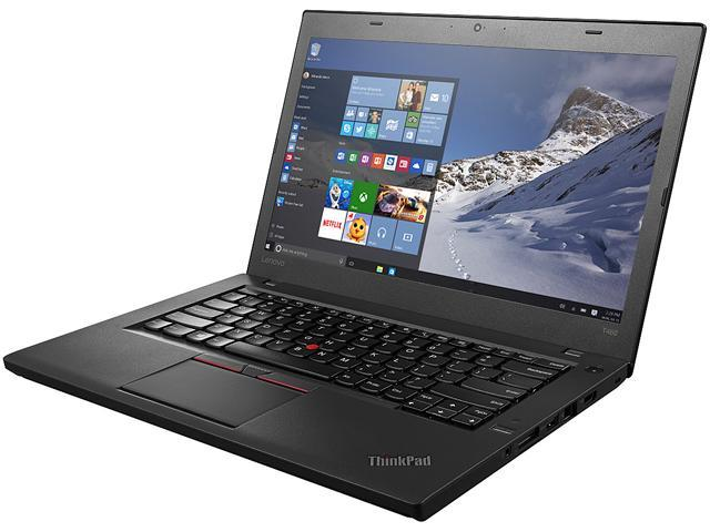ThinkPad Bilingual Laptop T Series T460 (20FN002JCA) Intel Core i5 6300U (2.40 GHz) 8 GB Memory 256 GB SSD Intel HD Graphics 520 14.0