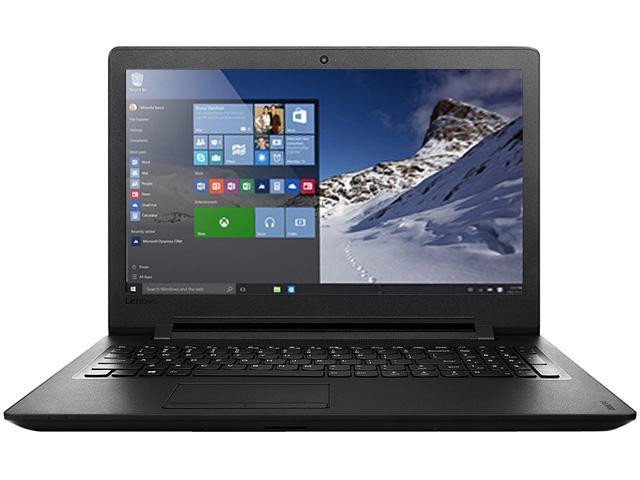 Lenovo IdeaPad 110-15IBR (80T7004ACF) Laptop Intel Celeron N3060 (1.60 GHz) 4 GB Memory 500 GB HDD Intel HD Graphics 400 15.6
