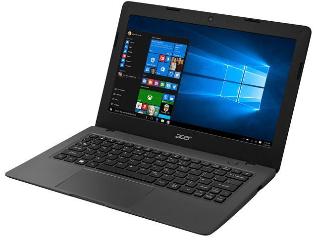 Acer Bilingual Cloudbook Aspire One AO1-131-C6DS Intel Celeron N3050 (1.60 GHz) 2 GB Memory 32 GB Flash SSD Intel HD Graphics 11.6