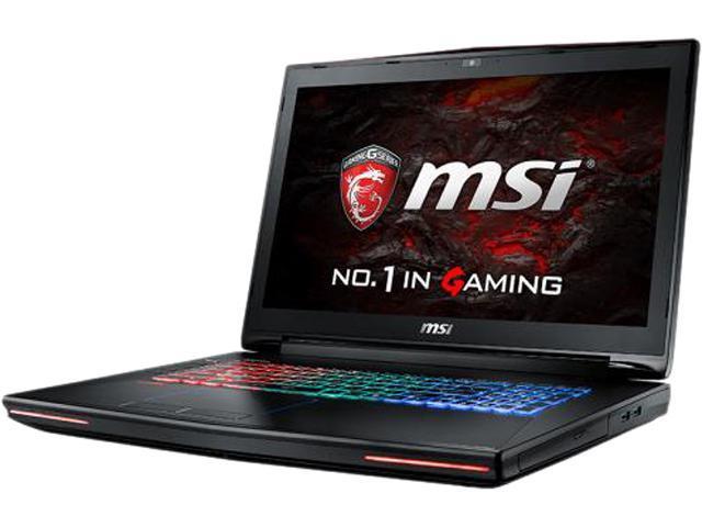 MSI GT72VR 6RD-050CA Dominator Laptop Intel Core i7 6700HQ (2.60 GHz) 16 GB Memory 1 TB HDD 256 GB SSD NVIDIA GeForce GTX 1060 17.3