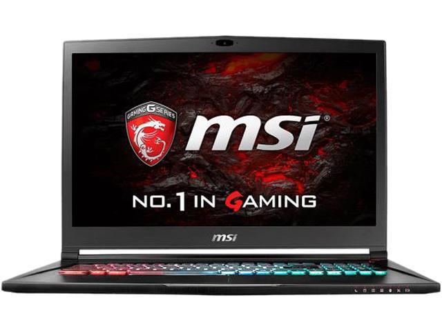 MSI GS73VR 6RF-005CA Stealth Pro 4K Laptop Intel Core i7 6700HQ (2.60 GHz) 16 GB Memory 1 TB HDD 128 GB SSD NVIDIA GeForce GTX 1060 17.3