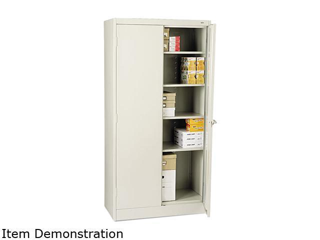 Tennsco 72 High Standard Cabinet, 36w x 18d x 72h, Light Gray