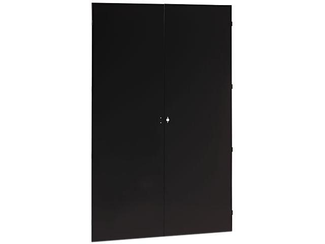 Tennsco 78 High Jumbo Cabinets, Box 1 of 2, 48w x 24d x 78h, Black