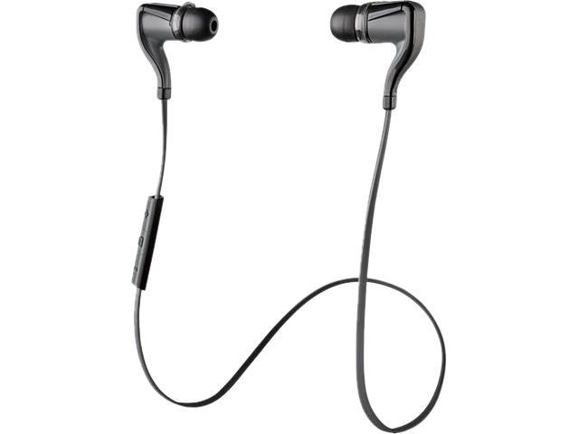 Plantronics Backbeat Go 2 Wireless Earbuds With Charging Case, Black, 200203-03