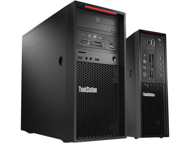 Lenovo Desktop Computer ThinkStation P310 (30AT000FUS) Xeon E3-1245 v5 (3.5 GHz) 8 GB DDR4 1 TB HDD Intel HD Graphics P530 Windows 7 Professional 64-Bit (Windows 10 Pro downgrade)