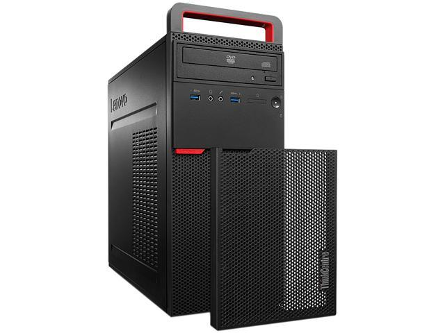 Lenovo Bilingual Desktop PC ThinkCentre M700 (10GR0023CA) Intel Core i5 6th Gen 6400 (2.7 GHz) 8 GB DDR4 1 TB HDD Intel HD Graphics 530 Windows 7 Professional 64-Bit / Windows 10 Pro Downgrade