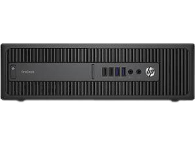 HP Desktop PC ProDesk 600 G2 (P5U77UT#ABA) Intel Core i7 6700 (3.40 GHz) 8 GB DDR4 256 GB SSD Intel HD Graphics 530 Windows 7 Professional 64-Bit (available through downgrade rights from Windows 10 Pr