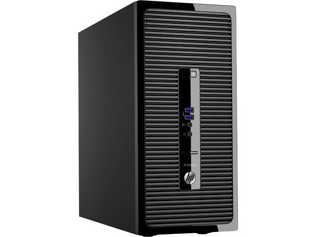 HP Desktop PC EliteDesk 400 G3 (P0D96UT#ABA) Intel Core i5 6500 (3.20 GHz) 4 GB DDR4 256 GB SSD Intel HD Graphics 530 Windows 7 Professional 64-Bit (available through downgrade rights from Windows 10