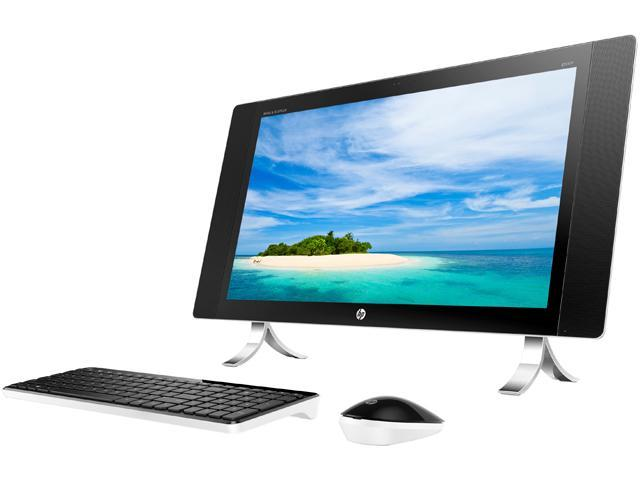 HP All-in-One Computer ENVY 27-p041 Intel Core i5 6th Gen 6400T (2.20 GHz) 8 GB DDR3L 2 TB HDD 27