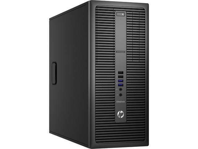 HP Desktop Computer EliteDesk 800 G2 (P4K15UT#ABA) Intel Core i5 6th Gen 6500 (3.20 GHz) 8 GB DDR4 500 GB HDD Intel HD Graphics 530