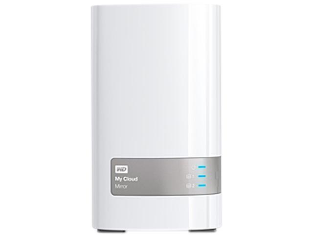 WD WDBWVZ0040JWT-NESN 4TB My Cloud Mirror 4TB Personal Cloud Storage - White