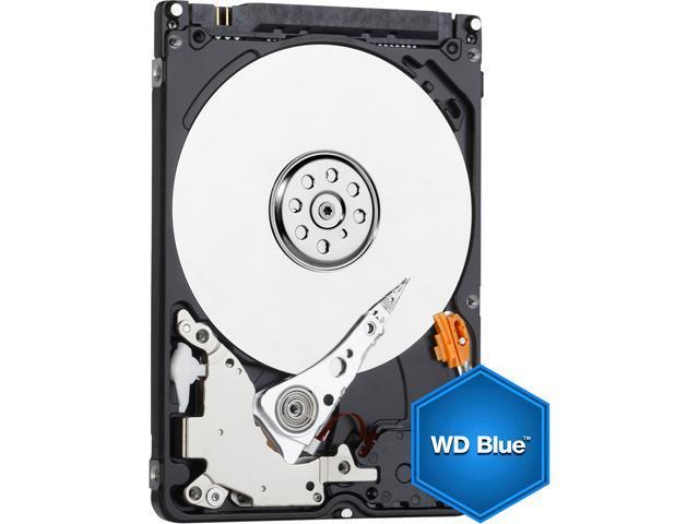 WD Blue 500GB Mobile 7.00mm Hard Disk Drive - 5400 RPM SATA 6 Gb/s Cache 2.5 Inch - WD5000LPCX