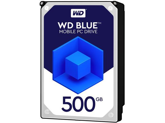 WD Blue 500GB Mobile 7.00mm Hard Disk Drive - 5400 RPM SATA 6Gb/s Cache 2.5 Inch - WD5000LPCX