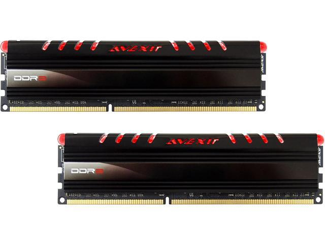 Avexir Core Series 8GB (2 x 4GB) 240-Pin DDR3 SDRAM DDR3 1600 (PC3 12800) Memory Kit Model AVD3U16001104G-2CIR