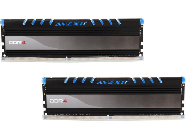 Avexir Core Series 16GB (2 x 8GB) 288-Pin DDR4 SDRAM DDR4 2400 (PC4 19200) Desktop Memory Model AVD4UZ124001608G-2COB
