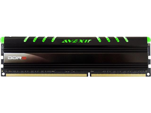 Avexir Core Series 4GB 240-Pin DDR3 SDRAM DDR3 1600 (PC3 12800) Memory Kit Model AVD3U16001104G-1CIG