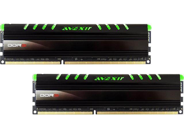 Avexir Core Series 16GB (2 x 8GB) 240-Pin DDR3 SDRAM DDR3 1600 (PC3 12800) Memory Kit Model AVD3U16001108G-2CIG